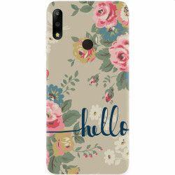 Husa silicon pentru Asus ZenFone Max Pro M2 Cute Flower Phone Huse Telefoane