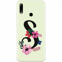 Husa silicon pentru Huawei P Smart Z Litera S Huse Telefoane