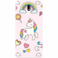 Husa silicon pentru Nokia 3.2 Cute Unicorn