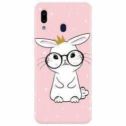 Husa silicon pentru Samsung Galaxy A20e Cute Rabbit