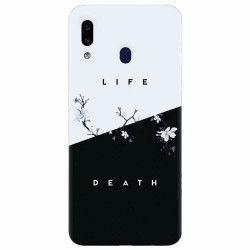 Husa silicon pentru Samsung Galaxy A40 Life Vs Death