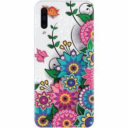 Husa silicon pentru Samsung Galaxy A50 Mandala Flowers Huse Telefoane