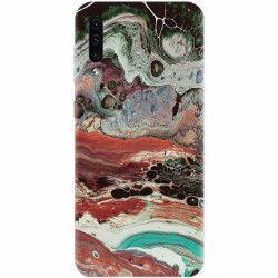 Husa silicon pentru Samsung Galaxy A70 Abstract 104