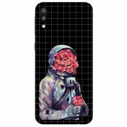 Husa silicon pentru Samsung Galaxy M10 Astronaut Love
