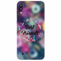 Husa silicon pentru Samsung Galaxy M10 Best Friends 101