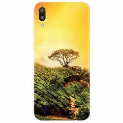 Husa silicon pentru Samsung Galaxy M10 Hill Top Tree Golden Light