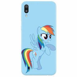 Husa silicon pentru Samsung Galaxy M10 Rainbow Dash