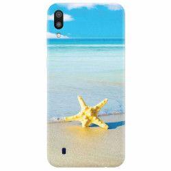 Husa silicon pentru Samsung Galaxy M10 Starfish Beach