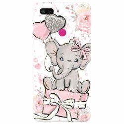 Husa silicon pentru Xiaomi Mi 8 Lite Elefant