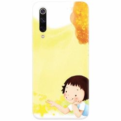 Husa silicon pentru Xiaomi Mi 9 Child Autumn Paint Hd