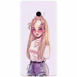 Husa silicon pentru Xiaomi Mi Mix 2 Girl Look