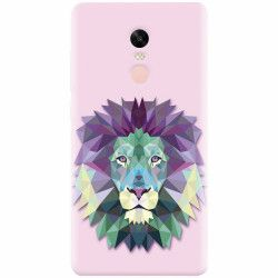 Husa silicon pentru Xiaomi Redmi Note 5A Prime Polygon Lion