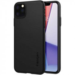 Husa slim Spigen Thin Fit Air iPhone 11 Pro Max Black Huse Telefoane