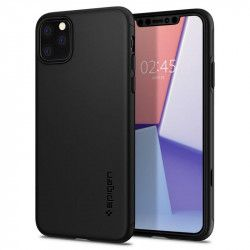 Husa slim Spigen Thin Fit Classic iPhone 11 Pro Max Black Huse Telefoane