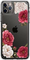 Husa Spigen Ciel Cecile iPhone 11 Pro Max Red Floral Huse Telefoane