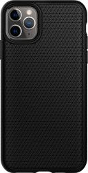 Husa Spigen Liquid Air iPhone 11 Pro Max Black Huse Telefoane