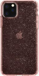 Husa Spigen Liquid Crystal Glitter Apple iPhone 11 Pro Max Rose Quartz Huse Telefoane