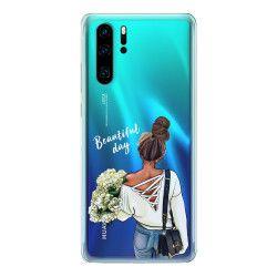 Husa telefon Huawei P30/ P30 Lite/ P30 Pro Have a Beautiful day Transparent Huse Telefoane