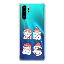 Husa telefon Huawei P30/ P30 Lite/ P30 Pro Stay Cozy Transparent
