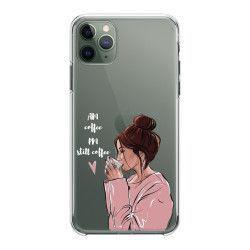 Husa telefon Iphone 11 11 Pro 11 Pro Max pentru iubitorii de cafea Transparent Huse Telefoane