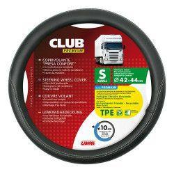 Husa volan Lampa Club Premium 42/44 cm Negru Huse si Accesorii