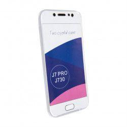 Husa 360° TPU Fata and Spate pentru Samsung J7 2017 Transparent Huse Telefoane