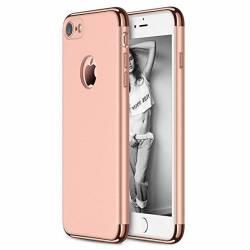 Husa Apple iPhone 8 Plus Elegance Luxury 3in1 Rose-Gold