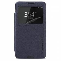 Husa Book Nillkin Sparkle pentru Sony Xperia E4 Negru Huse Telefoane