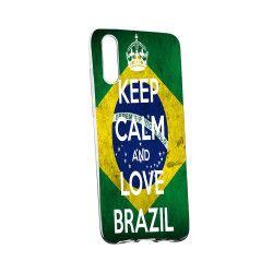 Husa de protectie Football Brazil Samsung Galaxy M10 rez. la uzura Silicon 232