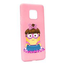 Husa de protectie Minion Girl pentru Huawei Mate 20 Pro Silicon P208 Huse Telefoane