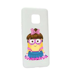 Husa de protectie Minion Girl pentru Huawei Mate 20 Pro Silicon W208 Huse Telefoane