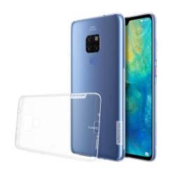 Husa de protectie spate silicon transparent Nillkin pentru Huawei Mate 20 Pro alb transparent Huse Telefoane