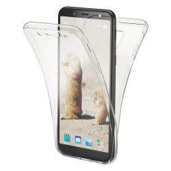 Husa Full TPU 360° fata + spate pentru Samsung Galaxy A6 2018 Transparent Huse Telefoane