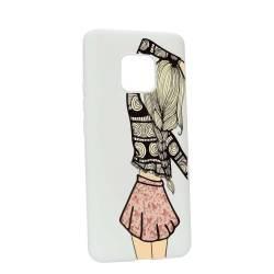 Husa Huawei Mate 20 Pro Silicon Girl W188 Huse Telefoane