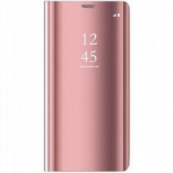 Husa Samsung Galaxy A40 Clear View Pink Huse Telefoane