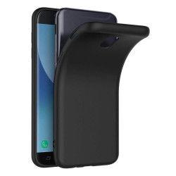 Husa Samsung Galaxy J7 2017 antisoc TPU Gel neagra Huse Telefoane