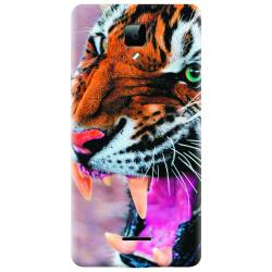Husa silicon pentru Allview P5 Energy Angry Tiger Teeth Fresh Huse Telefoane