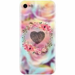 Husa silicon pentru Apple Iphone 5  5S  SE Fingerprint Huse Telefoane