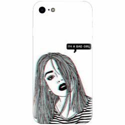 Husa silicon pentru Apple Iphone 5 / 5S / SE Im A Bad Girl