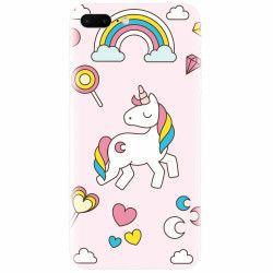 Husa silicon pentru Apple Iphone 8 Plus Cute Unicorn