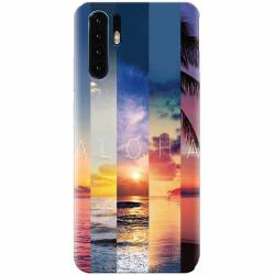 Husa silicon pentru Huawei P30 Aloha Summer Stripes