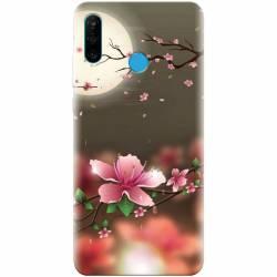 Husa silicon pentru Huawei P30 Lite Flowers 101