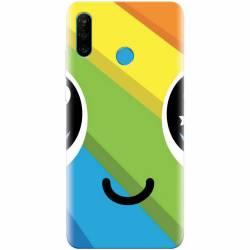 Husa silicon pentru Huawei P30 Lite Happy Face