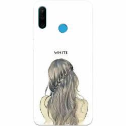 Husa silicon pentru Huawei P30 Lite White