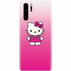 Husa silicon pentru Huawei P30 Pro Cute Pink Catty