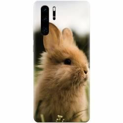 Husa silicon pentru Huawei P30 Pro Cute Rabbit In Grass