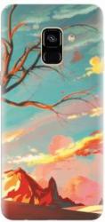 Husa silicon pentru Samsung Galaxy A6 Artistic Landscape