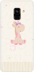 Husa silicon pentru Samsung Galaxy A8 Giraffe Cute