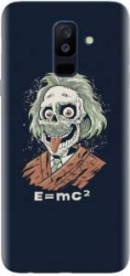 Husa silicon pentru Samsung Galaxy J8 2018 Albert Einstein Caricature Huse Telefoane