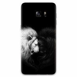 Husa silicon pentru Samsung Galaxy S6 Edge Lions